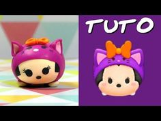 TUTO FIMO | Tsum Tsum Tic déguisé en citrouille ! [SPÉCIAL HALLOWEEN] - YouTube
