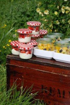 Picknick met de girls - Dessertjes in een potje :-)