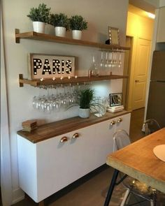 Do you want to have an IKEA kitchen design for your home? Every kitchen should have a cupboard for food storage or cooking utensils. So also with IKEA kitchen design. Here are 70 IKEA Kitchen Design Ideas in our opinion. Hopefully inspired and enjoy! Kitchen Ikea, Gold Kitchen, Kitchen Decor, Kitchen Small, Kitchen Cabinets, Kitchen Wood, Design Kitchen, Kitchen Hacks, Country Kitchen