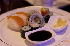 I like sushi. Could eat it every day.