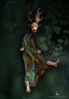 """daiMONIon"" - Wild Soul"" by Terra Indigena Studio"