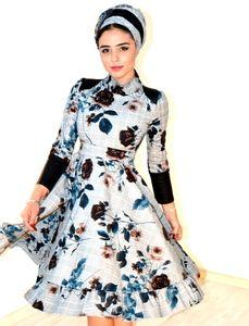 שמלת ערב לדתיות בעיצוב מודרני מיוחד של אתר חצאית מהקולקציה האחרונה של המעצבת אור סיבוני שעושה בגדים לנשים דתיות