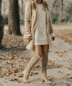 But Still Warm Women Fall Outfits Cool But Still Warm Women Fall Outfits Nib Grey Velvet Thigh High Boots