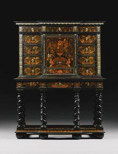 Ebony Cabinet by Pierre Golle                              …