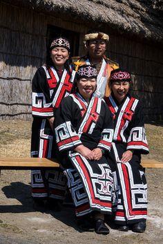 The Ainu people by Rita Willaert via Flickr.