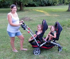 Contours Options Elite Tandem Stroller Review. #Contours #Option #Elite #Tandem #Stroller Double Stroller Reviews, Best Double Stroller, Double Strollers, Baby Strollers, Tandem, Second Baby, Contours, Children, Kids