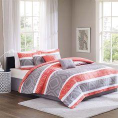 Home Essence Delaney 7 Piece Comforter Set Designer Living