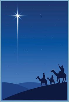Magi and the Christmas star vector art illustration Christmas Scenery, Christmas Nativity Scene, Noel Christmas, Christmas Pictures, Vintage Christmas, Christmas Crafts, Christmas Decorations, Nativity Scenes, True Meaning Of Christmas