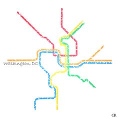 15 Best Cities Subway maps as Art images | Map art, Subway map