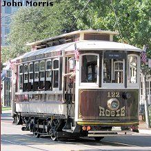 The M-Line Trolley, in Dallas, is free of charge.