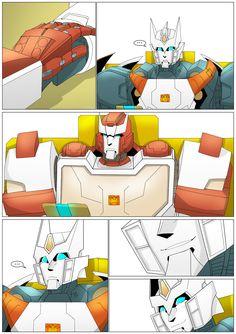 Transformers Funny, Transformers Bumblebee, Comic Book Covers, Comic Books, Sound Waves, Ratchet, Samurai, Nerd, Cartoon
