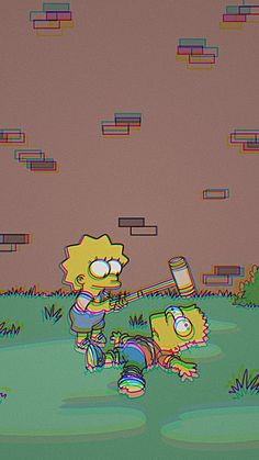 Simpsons aesthetic wallpaper new Ideas Simpson Wallpaper Iphone, Cartoon Wallpaper Iphone, Mood Wallpaper, Trendy Wallpaper, Cute Wallpaper Backgrounds, Tumblr Wallpaper, Aesthetic Iphone Wallpaper, Disney Wallpaper, Lock Screen Wallpaper