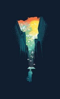 Illustrations by Budi Satria Kwan -illustrator, illustration, graphic designer, designer Ciel Art, Illustrator, Ouvrages D'art, Sky Art, Foto Art, Grafik Design, Art Design, Love Design, Graphic Design Inspiration