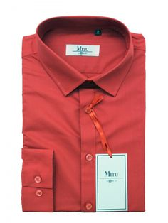 Mitu Uomo Designer Stylish GB 21/NC Red Shirt