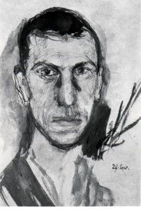 Richard Gerstl, self-portrait