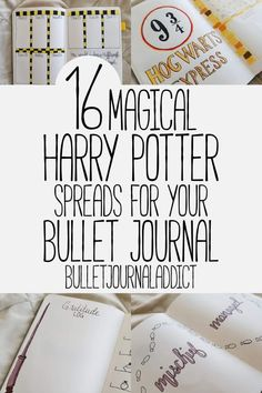 Bullet Journal Theme Ideas For Harry Potter - Harry Potter Spreads, Layouts, and Theme - 16 Magical Harry Potter Spreads […] Bullet Journal November Layout, Daily Bullet Journal, Bullet Journal Monthly Spread, Bullet Journal Themes, Bullet Journal Inspiration, Bullet Journals, Harry Potter Journal, Book Log, Journal Aesthetic