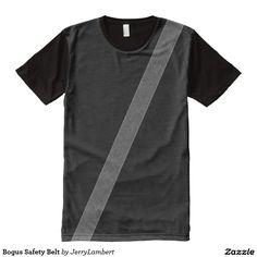 Bogus Safety Belt All-Over Print T-shirt
