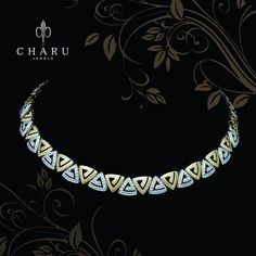Diamond Necklaces : from Gold Jewellery Design, Gold Jewelry, Jewelry Necklaces, Diamond Necklace Set, Wedding Jewelry, Antique Jewelry, Gold Designs, Choker, Bangle