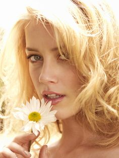 Amber Heard by Amanda de Cadenet