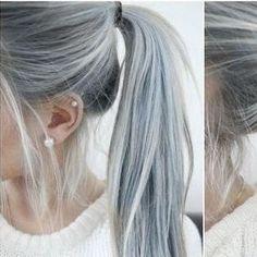 Die 23 besten Bilder von Haare grau färben | Haare grau