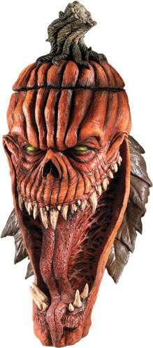 Bad Seed Pumpkin Halloween Mask