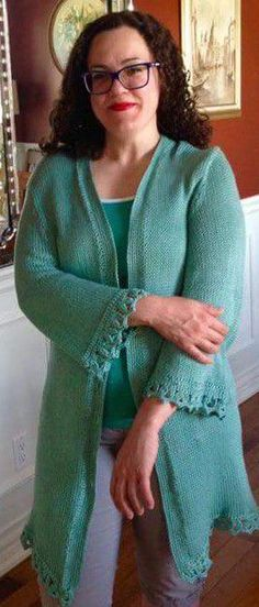 005e0127a351 Ravelry  Fatima s Fabulous Cardigan pattern by Kathryn Doubrley-The Answer  Lady