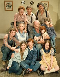 """The Waltons, The Waltons    John and Olivia Walton, their seven children, and John's parents live together in Depression-era rural Virginia. Their close-knit family weathered financial hardship, illness, and World War II. Eldest son """"John Boy,"""" an aspiring journalist and novelist, served as the story's narrator."""