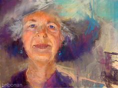 Barbara Noonan - Queen B- Pastel - Painting entry - December 2016 | BoldBrush Painting Competition