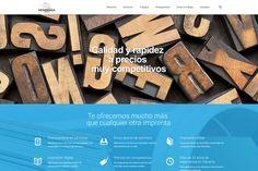 Desarrollo de la web de Gráficas Astarriaga - Calle Mayor Comunicación y Publicidad