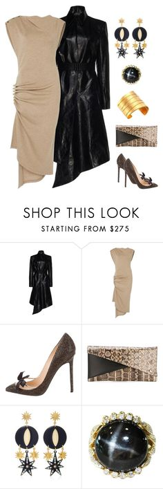 """""""Mysterious Woman"""" by karen-galves ❤ liked on Polyvore featuring Christian Louboutin, Jil Sander and Nest"""