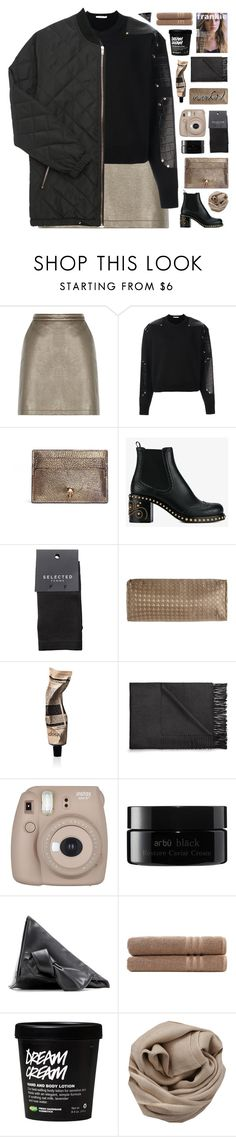 """""""Winter"""" by giulls1 ❤ liked on Polyvore featuring Givenchy, PacSun, Alexander McQueen, Miu Miu, SELECTED, Dian Austin Couture Home, Aesop, Acne Studios, Fujifilm and arbÅ«"""