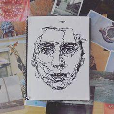 One line draw :3 . . . #art #illustration #instart #artsy #artoftheday #whrite #blackwork #blackworknow #iblackwork #sketch #drawing #line #detail #design #instapic #illustrate #dibujo #artistlife #perfectapologies #artjournal #paint #painter #doodle #illustrator #dailyart #writer #sketching #sketchbook