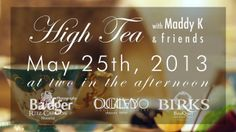 High Tea with Maddy K at the Ritz-Carlton Montreal. is a religion of the art of life. Prop House, High Tea, Montreal, Videos, Religion, Life, Facebook, Art, Tea