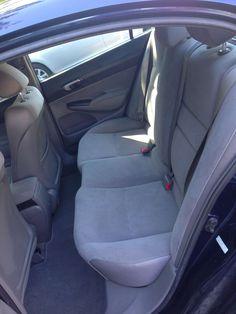 2007 Honda Civic, Honda Models, Exterior Colors, Colorful Interiors, Color Blue, Car Seats, The Unit, Gray, Vehicles