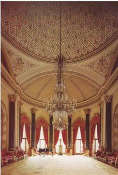 Buckingham Palace Music Room. This Room Is Where The Royal Children Are All  Baptised.