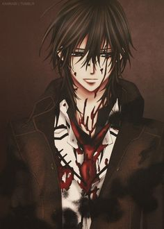 vampire knight kaname *cough cougj* bitchbaby *cough* (sorry not sorry)