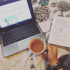 WHATSHEWROTE ♡ L Blogging / Cup of Tea / Book / Reading / Me Time