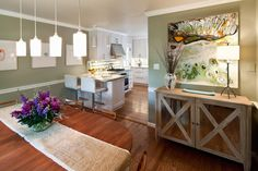 Amy Youngblood Interiors: Mt. Washington Colonial, Dining/Kitchen Area