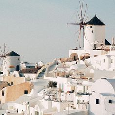 """Stamp #426 - Greece: The two """"Must-do's"""" of #Santorini. There are two must-dos when you travel to the island of Santorini. 1.) watch the sunset in Oia. 2.) Rent ATVs. You can discover the whole island on your own via ATV. It's purely magical. Thanks @stuffbrookedoes for leaving your #stamp!  For more awesome travel tips and adventures download the Stamp Travel App Today. The link is in our bio!"""
