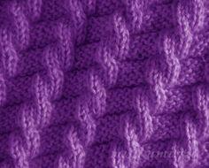 trenzas de imitación, patrones simples con los diagramas de rayos.