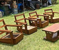 Never Be Afraid. This Can Be Brought Back To Itu0027s Glory Days. Lodge  FurnitureHardwood FurnitureVintage HawaiianFurniture VintageRattanMid ...