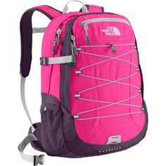 The North Face Borealis Backpack Women's Azalea Pink/Dark Eggplant Purple OS Girl Backpacks, School Backpacks, Laptop Backpack, Backpack Bags, North Face Women, The North Face, Small Hiking Backpack, Preppy Brands, North Face Borealis