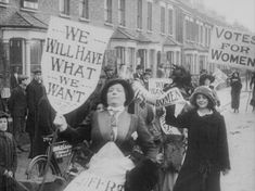 Image: Newcastle, 1909. Make More Noise! Suffragettes in Silent Film is a new archival compilation from the BFI featuring footage of women from the earliest days of film. It combines suffrage marches with comedies, and scenes of oppression with moments of empowerment. Lillian Henley composed the music to accompany the silent footage. at the click: more stills and her thoughts