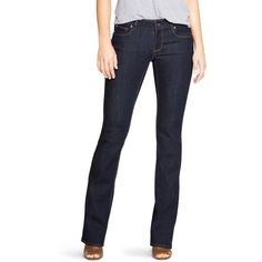 White House Black Market Womens Saint Honore Curvy Essential Bootcut... ($78) ❤ liked on Polyvore