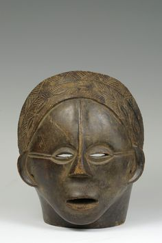 Democratic Republic of the Congo; cm of Iowa Stanley Museum of Art, The Stanley Collection of African Art, African Masks, African Art, Lake Tanganyika, Female Mask, Masks Art, Tribal Art, Republic Of The Congo, Iowa, Art Museum