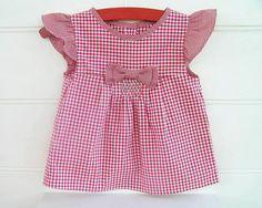 LIBERTY Style Girl Blouse Tunic Top Shirt pattern Pdf by PUPERITA
