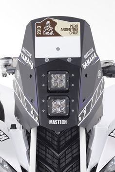 NAVIGATION SYSTEM WITH LIGHTS AND Cowling YAMAHA RAPTOR 700