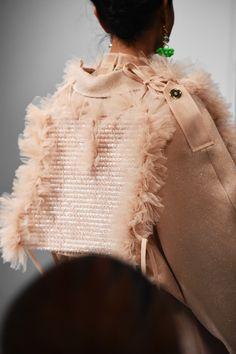 Amazing design by KIRSTY WARD - DAVID LONGSHAW, On/Off London! Insect Photos, Kids Fashion, Fashion Show, Vogue Japan, Show Photos, Looking Stunning, Fashion Stylist, Knitwear, Women Wear