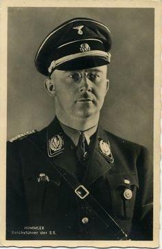 Reichsführer SS und Reichsminister des Innern (Reich minister of the Interior 24 August 1943 - 29 April 1945) Heinrich Himmler