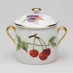 Preserve pot, Evesham Royal Worcester